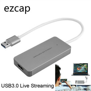 Full HD 1080P 60fps Game Capture Card HDMI To USB 3.0 Video Recorder Live Stream
