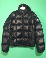 $1950 PRADA LOGO 100% DOWN & ELDERDOWN PUFFER PADDING PARKA NAVY US MEN MEDIUM
