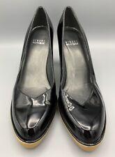 STUART WEITZMAN Women's 7 M Patent Leather Slip On Pumps Rubber Sole Spain