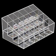24-Slot Cosmetic Organizer Trapezoid Makeup Lipstick Display Stand Holder