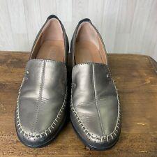 HOTTER • Gold Wedge Comfort Loafer Shoes • Size 5