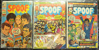 SPOOF (3-Book) Comic LOT with #1, 3, 4 (1970-1973, Marvel Comics) Bronze Age