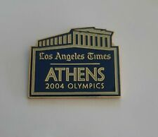 2004 Athens Olympic Games, Los Angeles times newspaper media pin