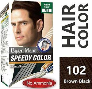Bigen Homme Speedy Couleur Ombre Marron Noir 102, (40gm+40gm) - sans Ammoniaque