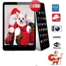 7inch Google Android 4.4 HDMI Tablet PC Quad Core CAMERA 4GB AU Black F10412D