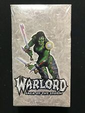 Warlord's Saga of the Storm Sneak Attack Booster Box - Factory Sealed