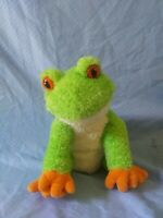 Mary Meyer Sweet Rascals TAD Tree Frog Green Orange Cream 9in Soft Plush