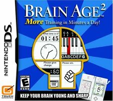 Brain Age 2: More Training in Minutes a Day Game Complete TESTED & WORKING