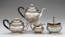 Rare 19C Antique Russian Silver Coffee Tea Set A.Sperr 1832