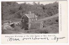 RARE Postcard - Clute Studios of New York City - Schenectady NY 1904 Workshop