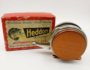 James Heddon & Sons Automatic Free Stripping No.87 Fly Fishing Reel & Box