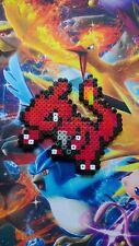 Pokemon Charmeleon Handcrafted Perler Bead Art Ornament Pixel Art