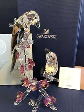 swarovski crystal figurines Tutelary Spirit Loving Magpies #5004639