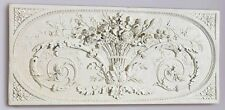 Parisian Style Bas-Relief Le Bouquet Grand Sculptural Design Toscano Wall Frieze