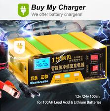 Xenes ECO-LINE 24 V 100ah LiFePO 4 Smart-BMS Lithium etles Batterie 25,6 V