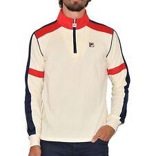 Cotton Zip Neck FILA Casual Shirts & Tops for Men