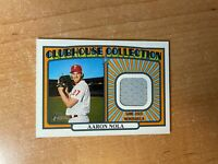 2021 Topps Heritage - Aaron Nola - Clubhouse Collection Relic PHILLIES