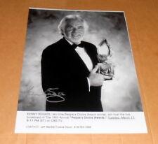 Kenny Rogers *The Gambler*, original signed Photo 20x25 cm (8x10)