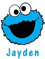 Personalized Elmo's World Love Cookie Monster T Shirt Gift with Name On