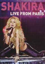 "SHAKIRA ""LIVE FROM PARIS"" DVD NEU"