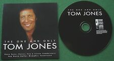 The One and Only Tom Jones inc Try A Little Tenderness & Sexy Eyes + CD