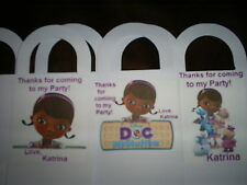 Doc McStuffins Birthday Party pack of 12 Favor Boxes Free Personalization