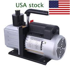 5CFM Rotary Vane DEEP AC Vacuum Pump HVAC Tool For R410A/R134 Refrigeration A/C