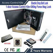C3/100 door access control system with weigand card reader+infrared exit button