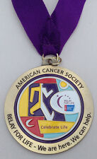Relay For Life Pendant American Cancer Society Necklace Medallion, 25 Available
