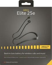 Jabra Elite 25e Silver neckband Wireless Bluetooth Earbuds In-Ear Headphones