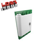 4 x [neu] LEGO Tür 1 x 3 x 3 links mit hohlem Scharnier - weiß - 60657