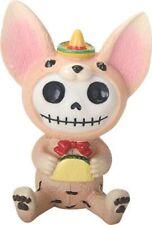 Furrybones Taco Skeleton Dressed in Chihuahua Dog Costume Halloween Figurine New
