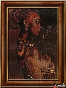 Shades of  Brown Diamond Painting