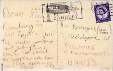 THE WHO REPRO 1965 KEITH MOON HAND WRITTEN SIGNED POSTCARD