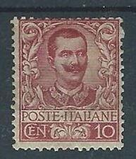 1901 REGNO FLOREALE 10 CENT MH * - RR12799