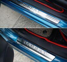 Stainless Steel Scuff Plate Door Sill 4pcs/set For VW Volkswagen Passat B5 Sedan