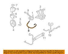 Chevrolet GM OEM 97-04 Corvette-Power Steering Pressure Hose 26046501