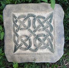 Celtic tile plastic mold plaster concrete casting mould