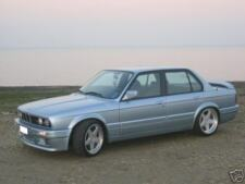 BMW E30 Body Kit '89-'92 M-TECH II Style Add-On With Side Panels Non Convertible