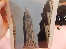 1951 Chrysler Building 42 St Abstract NYC New York City Abstract Photo NICE WOW!