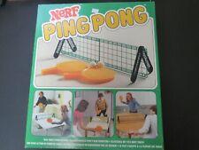 Vintage Nerf PingPong Table Tennis Game 1982