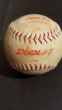 Vintage Dudley Thunder Sw Official Softball Sw-12-Rf Asa Certified Red Letters