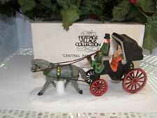 """DEPT 56 """"CENTRAL PARK CARRIAGE"""" 59790  Christmas in the City Series"""