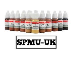 Doreme Pigment Semi Permanent Makeup Eyeliner, Brow, Lip PMU Makeup