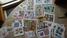 Lot Timbres Blocs Feuilles Sheets SHARJAH MNH ** Perf + Imperf Used & Unused