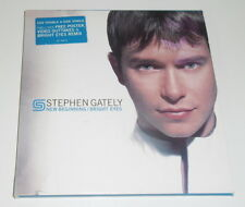 STEPHEN GATELY - NEW BEGINNING - 2000 UK ENHANCED CD SINGLE CARD SLEEVE + POSTER