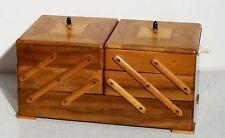 Antiker schöner Art Deco Nähkasten Utensilienbox Nähkästchen - sewing box ~ 20er