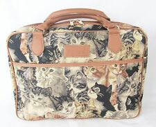 Cats & Kittens design Computer Laptop or Brief Case Bag Tapestry Signare