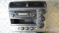 Honda Civic silver Climate Control Panel and radio stereo Autoradio EIS98322