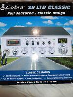 Cobra 29LTD Professional CB Radio - Instant Channel 9, 4 Watt Output, Full 40 Ch